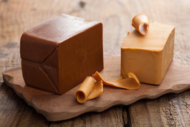 Brunost Norwegian cheese
