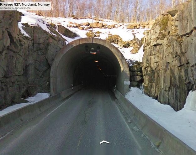 Norwegian cheese tunnel