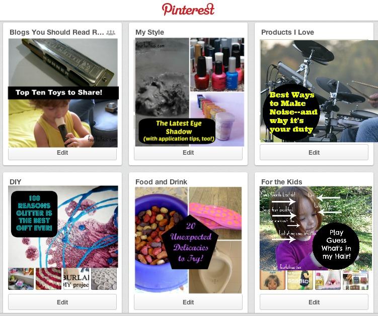 PinterestBoardTemplate